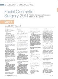 Facial Cosmetic Surgery 2011