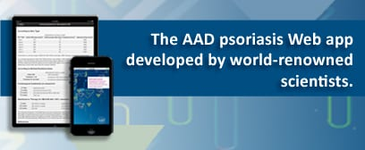 New AAD App Puts Psoriasis Care at Your Fingertips