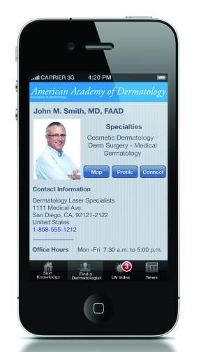 NEW APP ALERT: AAD's New App Puts Skin Health at Your Patients' Fingertips