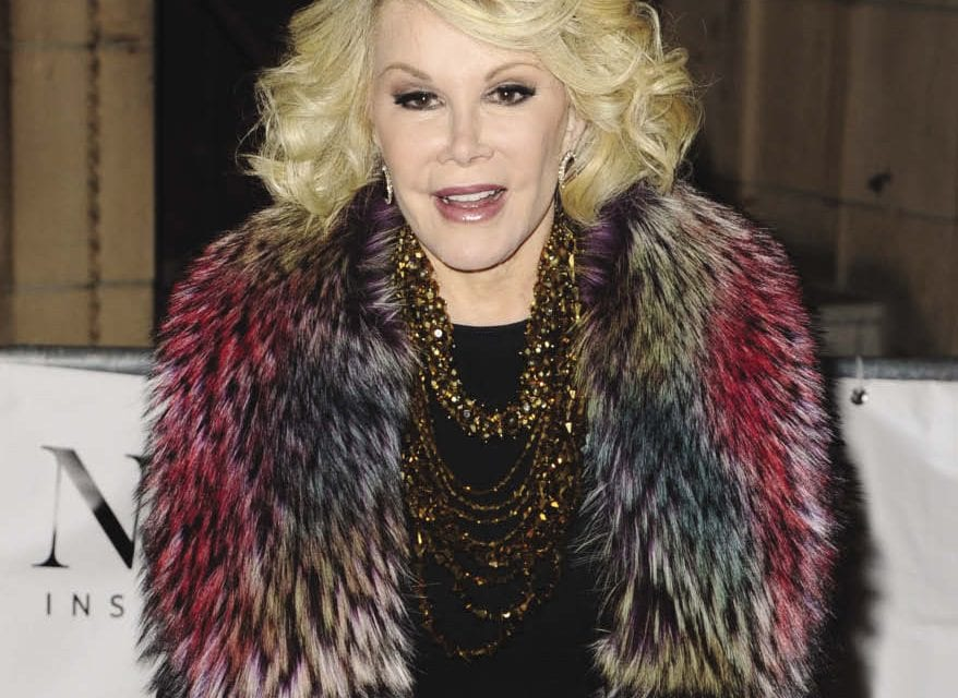 UPDATED: An Open Letter to Comedienne  Joan Rivers