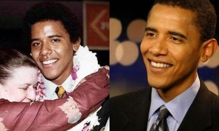 Barack Obama's nose job