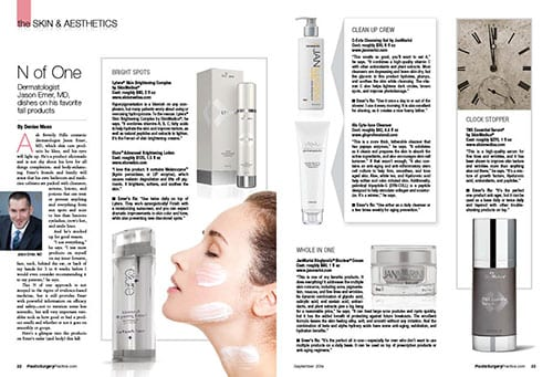 Skin and Esthetics: N of One
