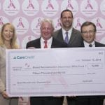 CareCredit Re-Ups Support for the PSF's BRA Fund