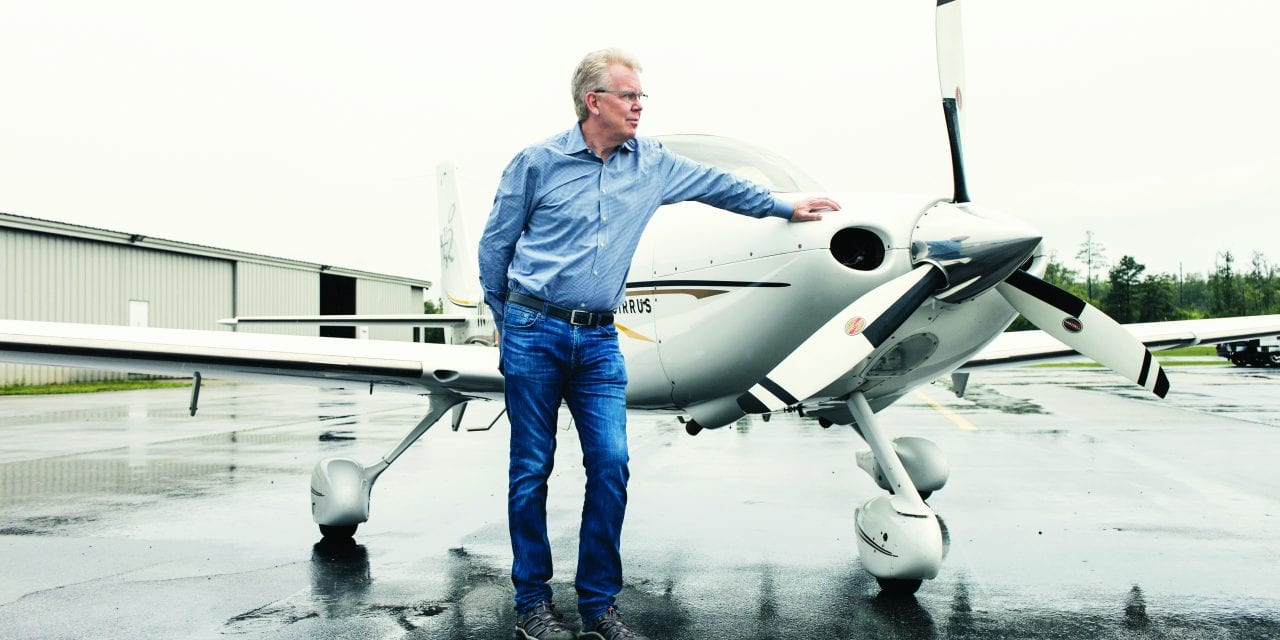 Top Gun: New ASAPS president James C. Grotting, MD, takes flight