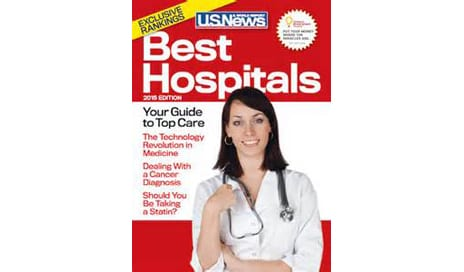 US News and World Report Names Best Hospitals for Adult Ear, Nose & Throat