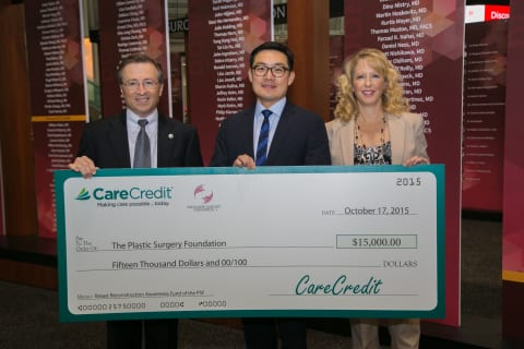 CareCredit Gives Back: $15,000 Grant Awarded to PSF's BRA Campaign