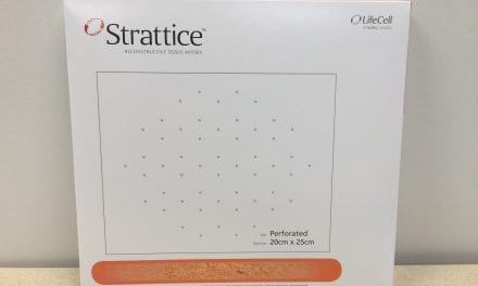 New Launch Alert: Acelity Rolls Out Strattice Tissue Matrix Perforated
