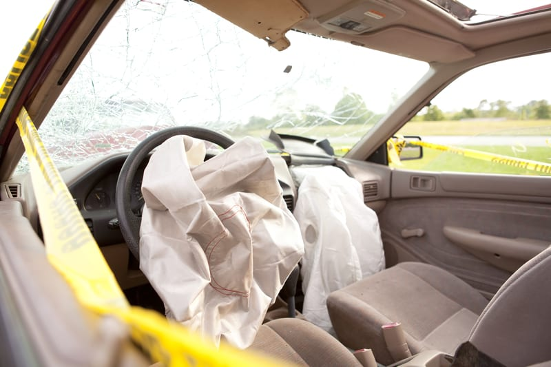 Likelihood of Facial Fractures May Be Lower with Airbags, Seat Belts