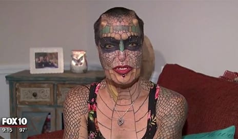 'The Dragon Lady': Plastic Surgeon Warns On Dangers of Body Modification
