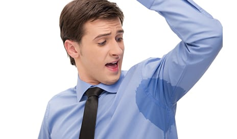 "Sweat Too Much? You Might Have a Treatable Medical Condition Called ""Hyperhidrosis"""