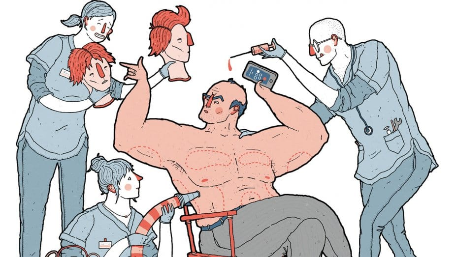 """Hollywood's High """"Man""""-tenance: Male Cosmetic Surgery on the Rise"""