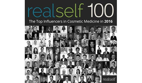 RealSelf Reveals the Top 100 Cosmetic and Aesthetic Medicine Influencers in 2016