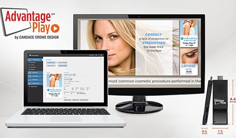 Candace Crowe Design Launches Advantage Play Digital Signage Solution