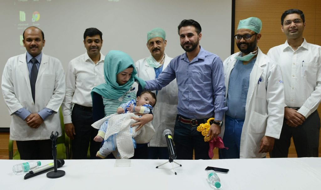 Indian Doctors Successfully Operate On Baby with Eight Limbs