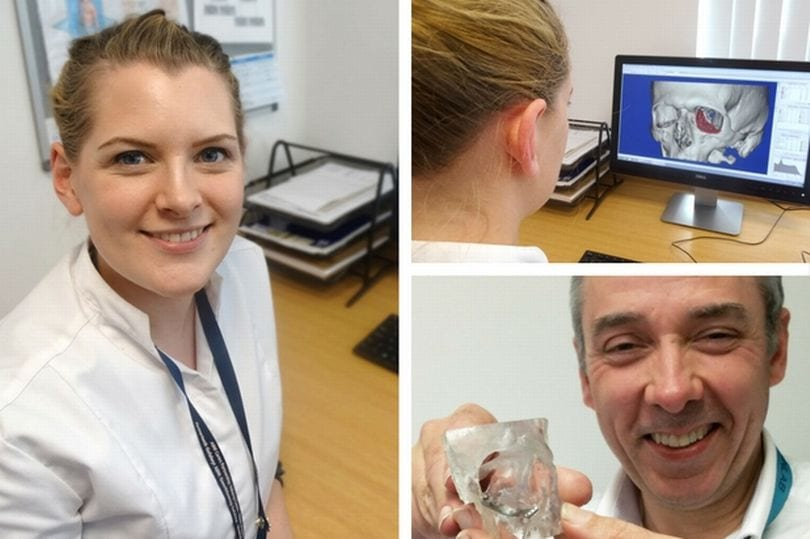 Woman Rebuilds People's Faces By Designing and 3D Printing State of the Art Implants