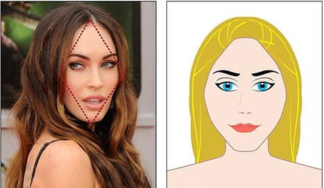The Most Desirable Face Shape Revealed