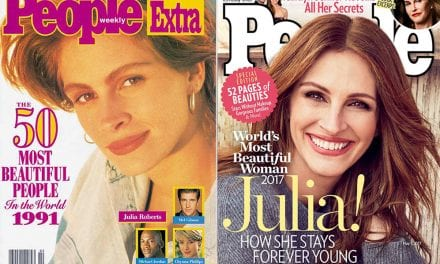 """Older and Nonwhite Celebrities on People's """"World's Most Beautiful"""" List"""