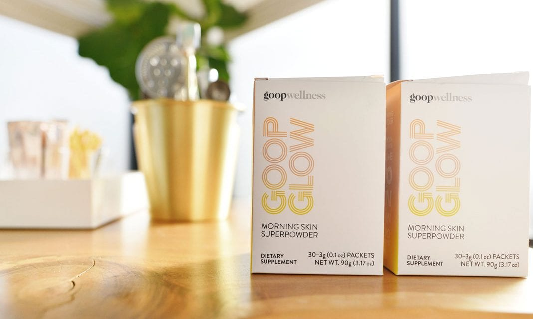 Gwyneth Paltrow Launches Her Own Inner Beauty Superpowder, GoopGlow