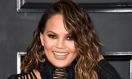 Chrissy Teigen Won't Wash Her Face