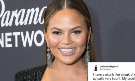 Chrissy Teigen's Tweet About Gray Hair Has The Internet Celebrating Silver