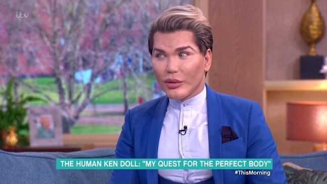 'Human Ken Doll' Reveals Inspiration Behind Unique Look