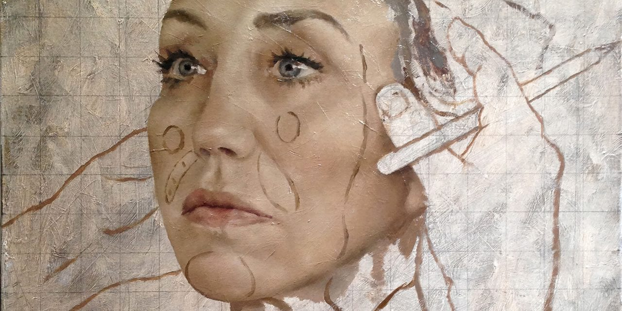 Artist Jonathan Yeo Explores the Savagery of Cosmetic Surgery with Oil Paintings