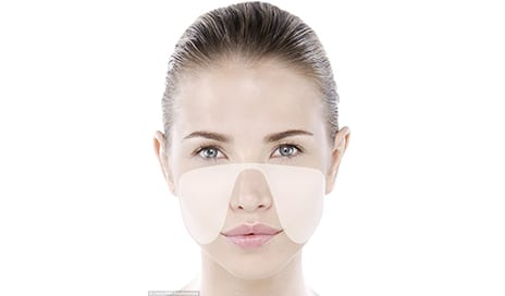 Experts Reveal Why the 'Ribbon Zone' Should Be the Focus of All Your Skincare