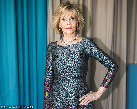 Jane Fonda Says Women Who Have Plastic Surgery Can Be Using It As a 'Mask' to Cover Up Sexual Abuse