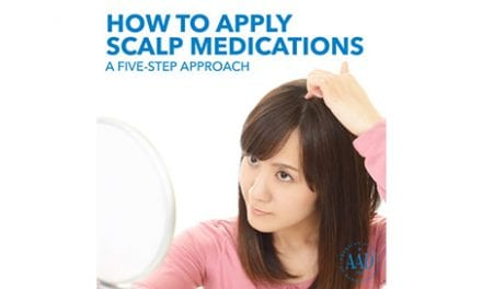 Dermatologists' Tips for Applying Scalp Medications