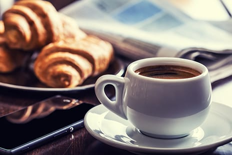 Coffee May Tame the Redness of Rosacea