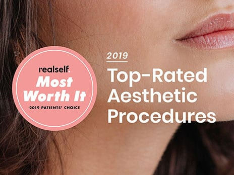 "RealSelf Ranks the ""Most Worth It"" Aesthetic Procedures for 2019"