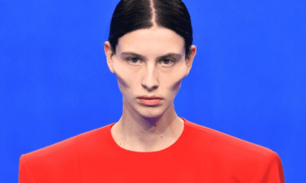 Balenciaga Sends Extreme Cheekbones and Blown-Up Lip Prosthetics Down the Runway in Paris