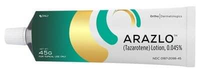 FDA Approves Ortho Dermatologics' ARAZLO (Tazarotene) Lotion, 0.045%, For Acne Vulgaris