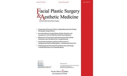 JAMA Will Transform into Facial Plastic Surgery & Aesthetic Medicine in 2020