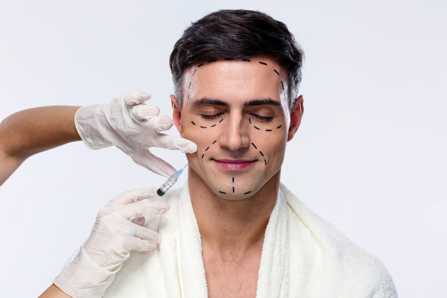 Inside the World of 'Masculinization' Fillers, the 'Instagram Face' for Men