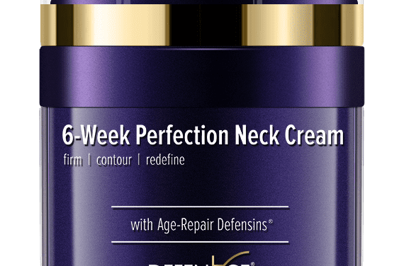 Doctors Recommend New 6-Week Anti-Aging Cream to Rejuvenate Neck Skin