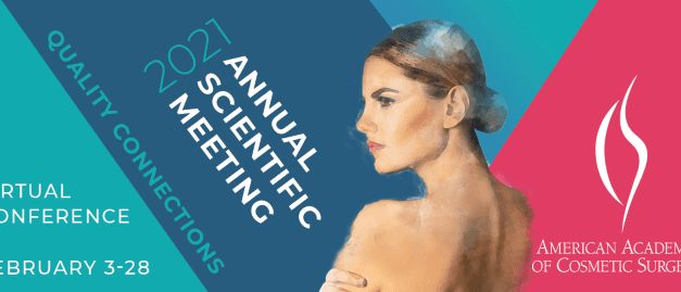 American Academy of Cosmetic Surgery Plans 2021 Virtual Annual Scientific Meeting in February