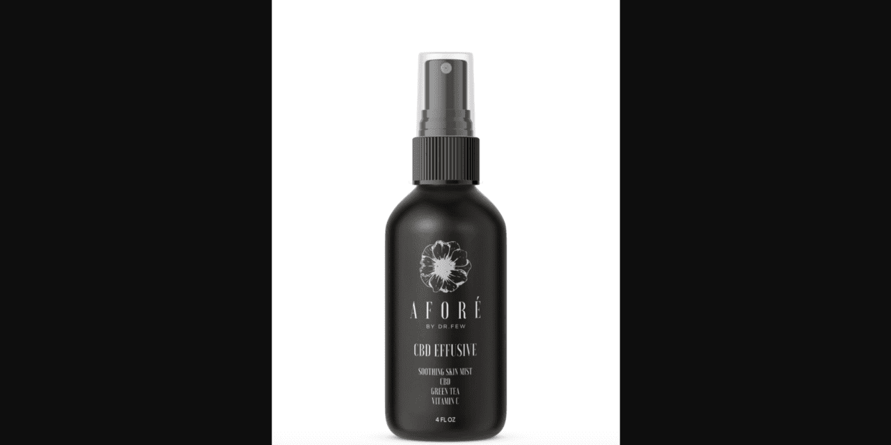 Afore by Dr Few Unveils First Physician Formulated CBD Mist