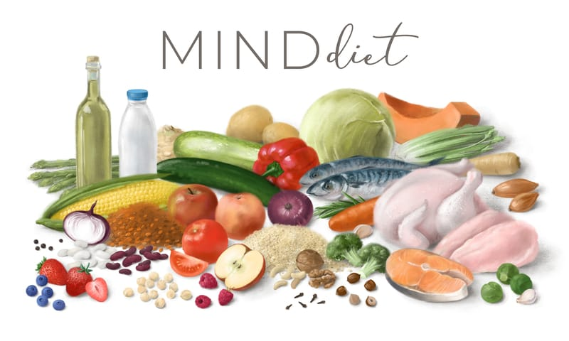 New Study Claims The MIND Diet Can Help Prevent This Common Aging Problem