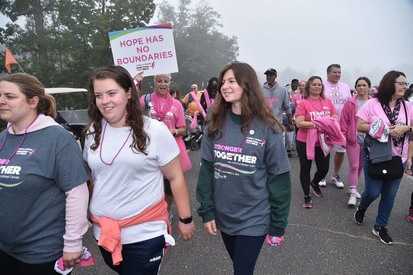Susan G Komen New Jersey Kicks Off Breast Cancer Awareness Month with 'More Than Pink Walk' at Six Flags Great Adventure